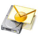 Backup Outlook icon png 128px