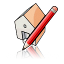 SketchUp for Mac icon png 128px