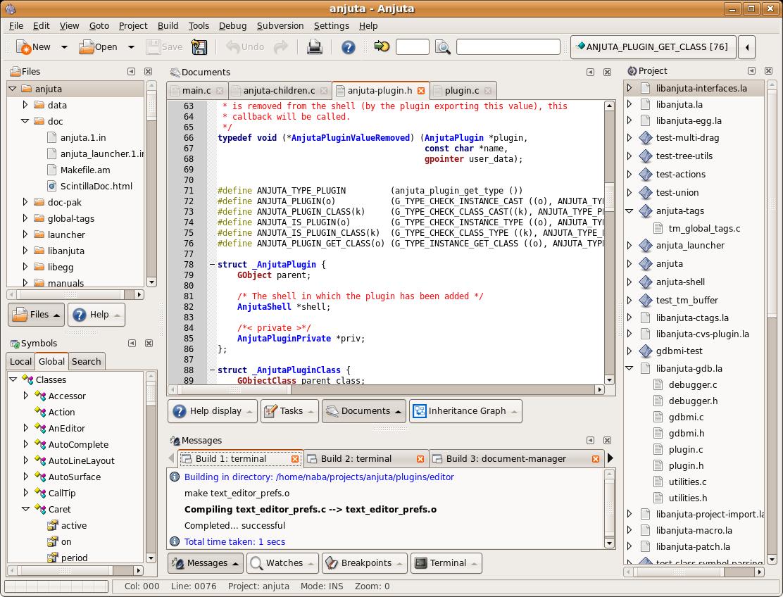 Anjuta DevStudio picture or screenshot