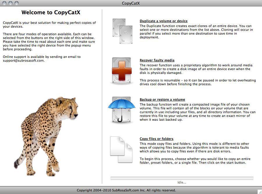 CopyCatX picture or screenshot