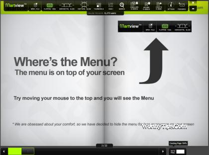Martview ebook reader picture or screenshot