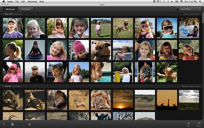 Lytro Desktop picture or screenshot