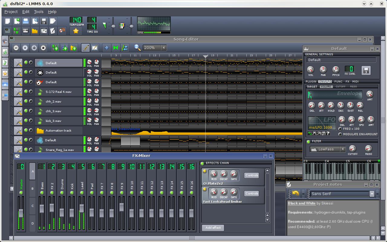 Linux MultiMedia Studio picture or screenshot