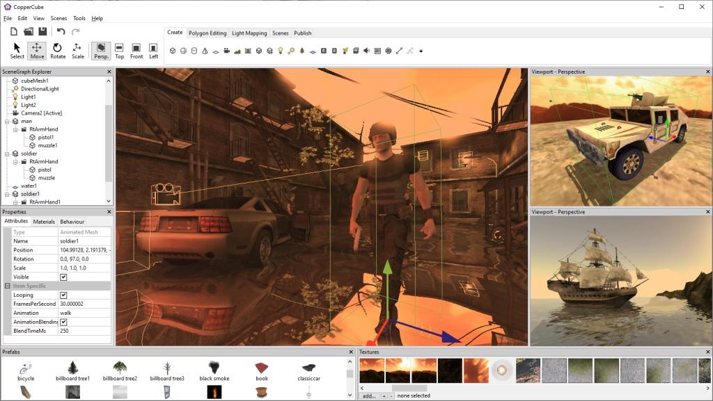 CopperCube picture or screenshot