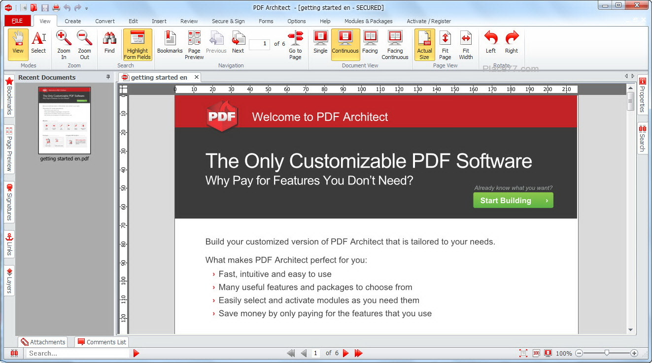 PDF Architect picture