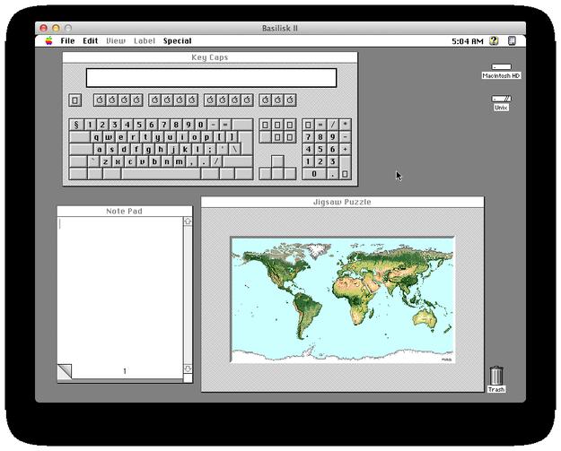 Basilisk II picture or screenshot
