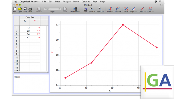 Graphical Analysis picture or screenshot