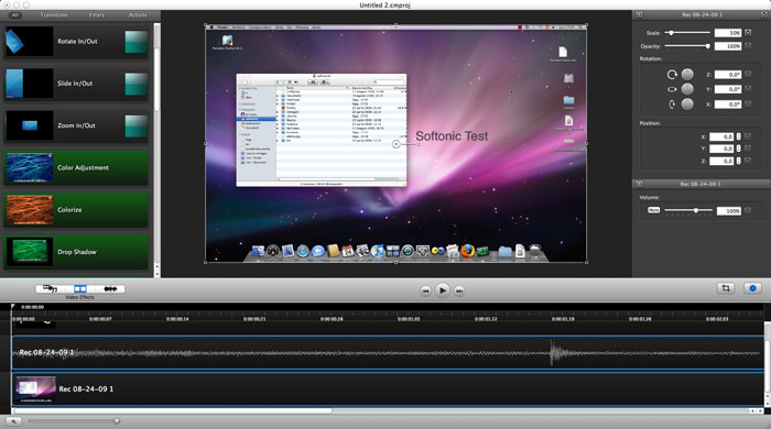 Camtasia for Mac picture