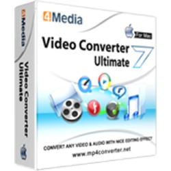 4Media Video Converter for Mac picture