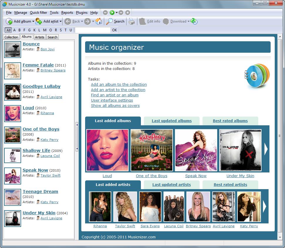 Musicnizer picture or screenshot