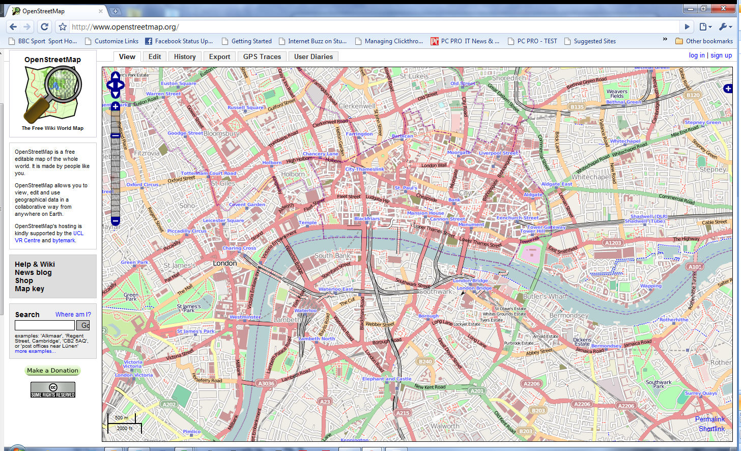 OpenStreetMap picture