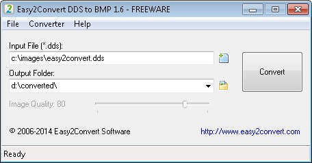 Easy2Convert DDS to BMP picture