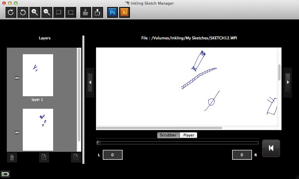 Inkling Sketch Manager picture or screenshot