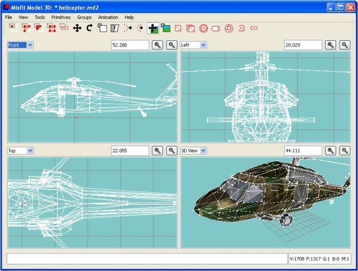Misfit Model 3D picture or screenshot