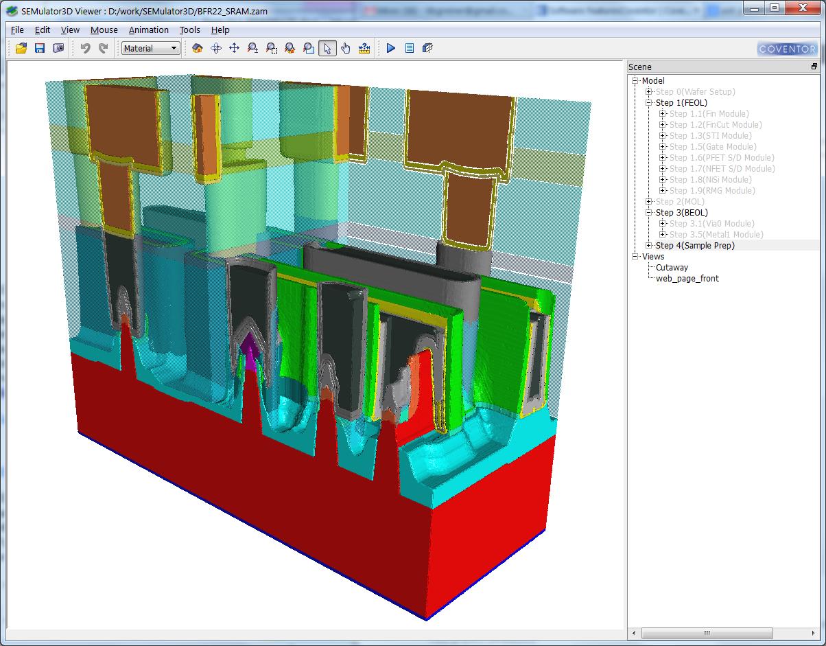 SEMulator3D picture or screenshot