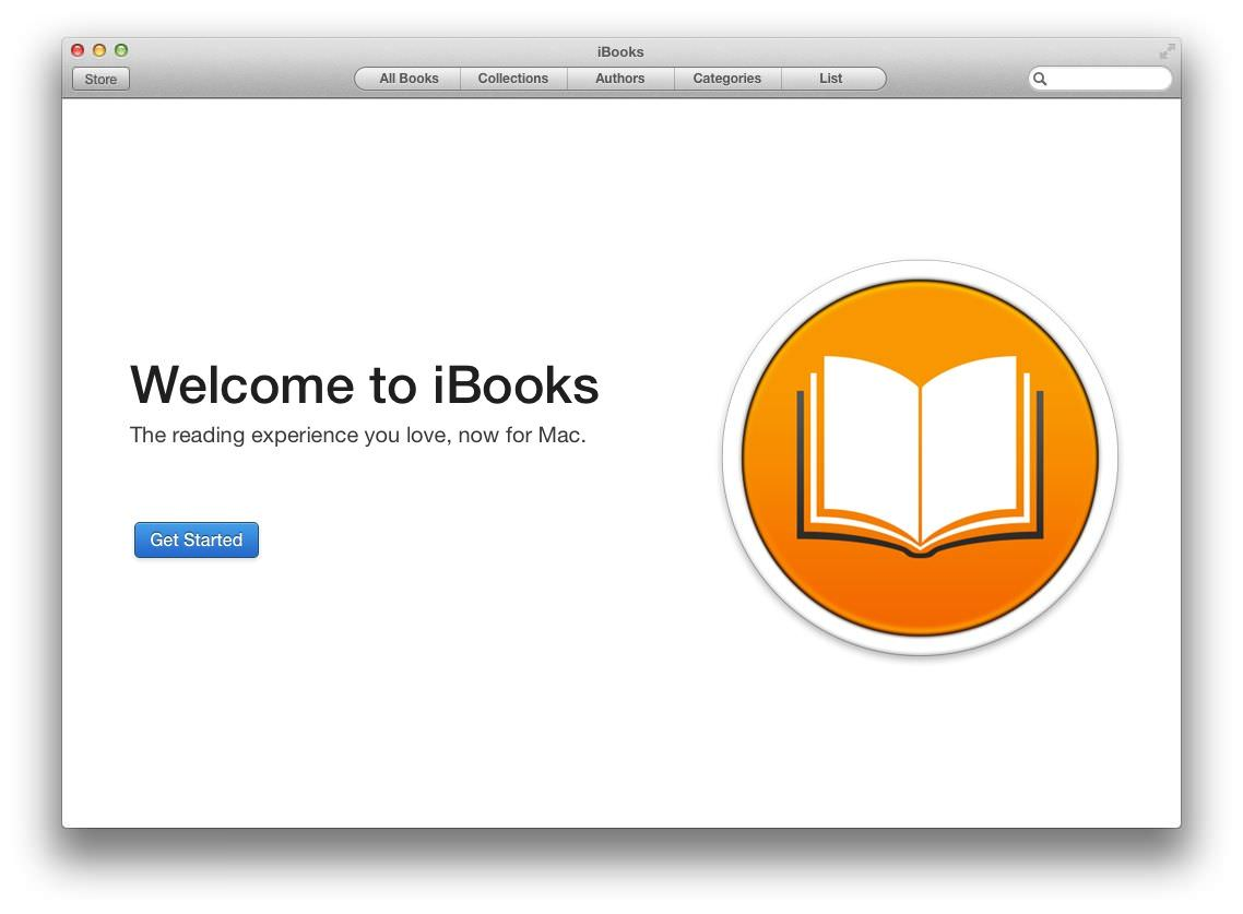 iBooks for Mac picture