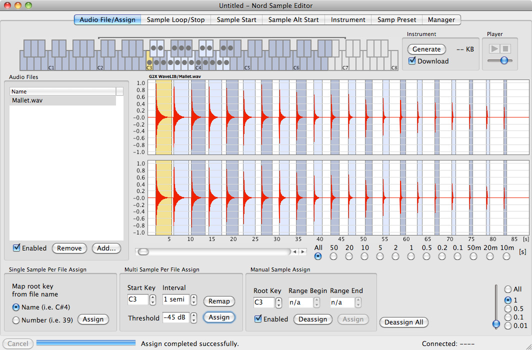 Nord Sample Editor picture or screenshot