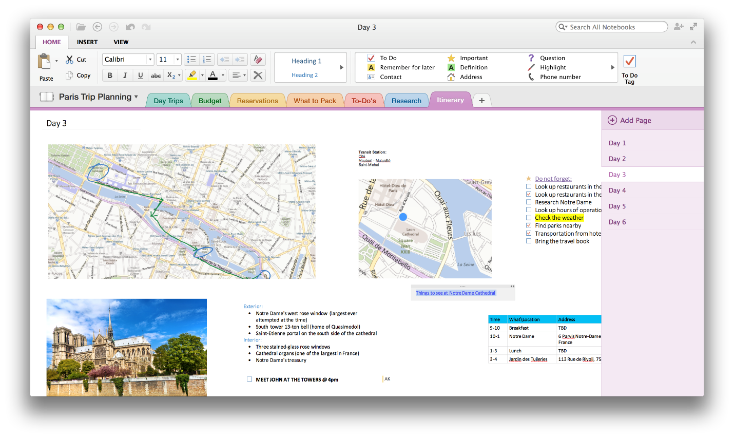 Microsoft OneNote for Mac picture