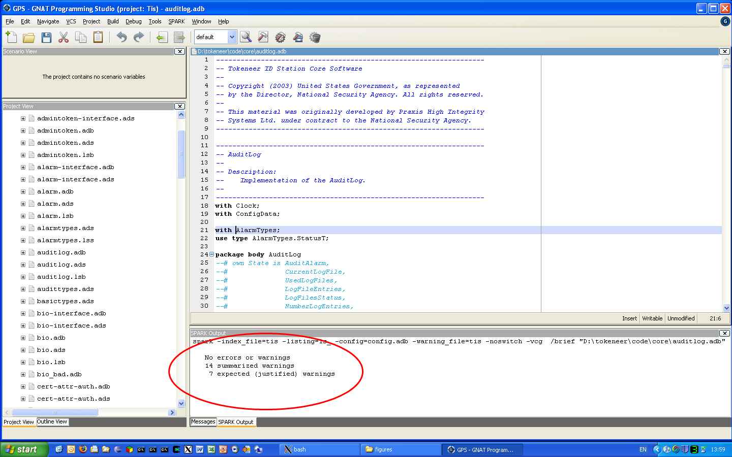GNAT Programming Studio (GPS) picture or screenshot