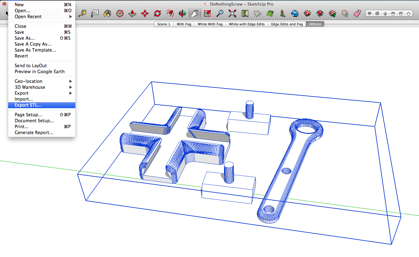 SketchUp STL picture