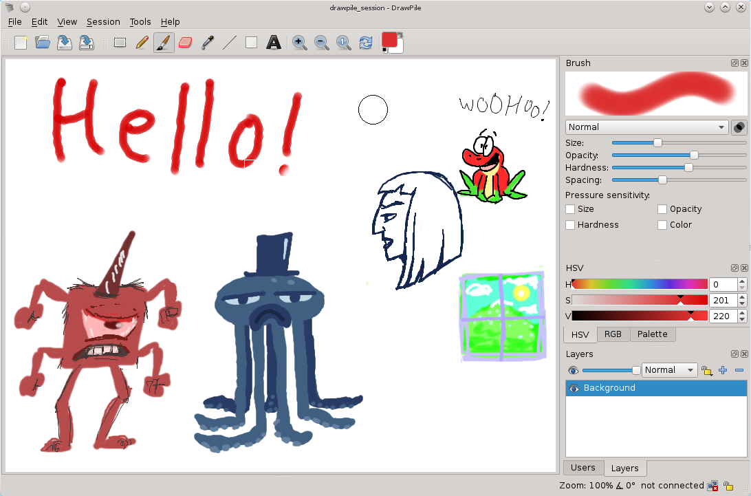 Drawpile picture or screenshot