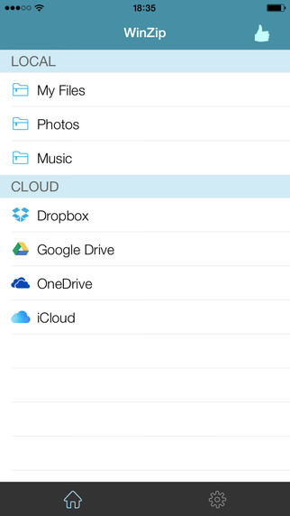WinZip for iOS picture