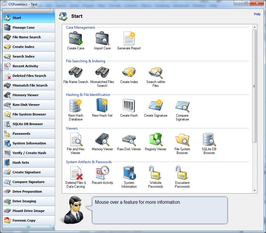 OSForensics picture or screenshot