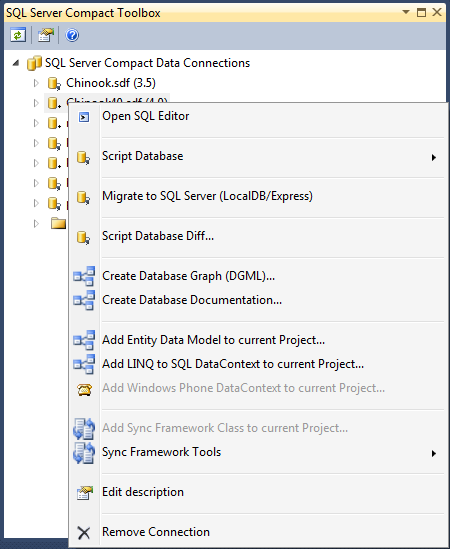 SQL Server Compact/SQLite Toolbox picture
