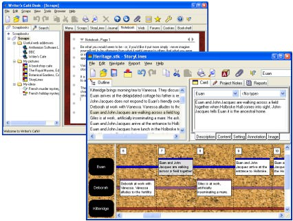 Writer's Café picture or screenshot
