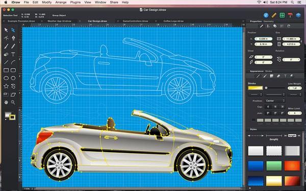 iDraw picture or screenshot