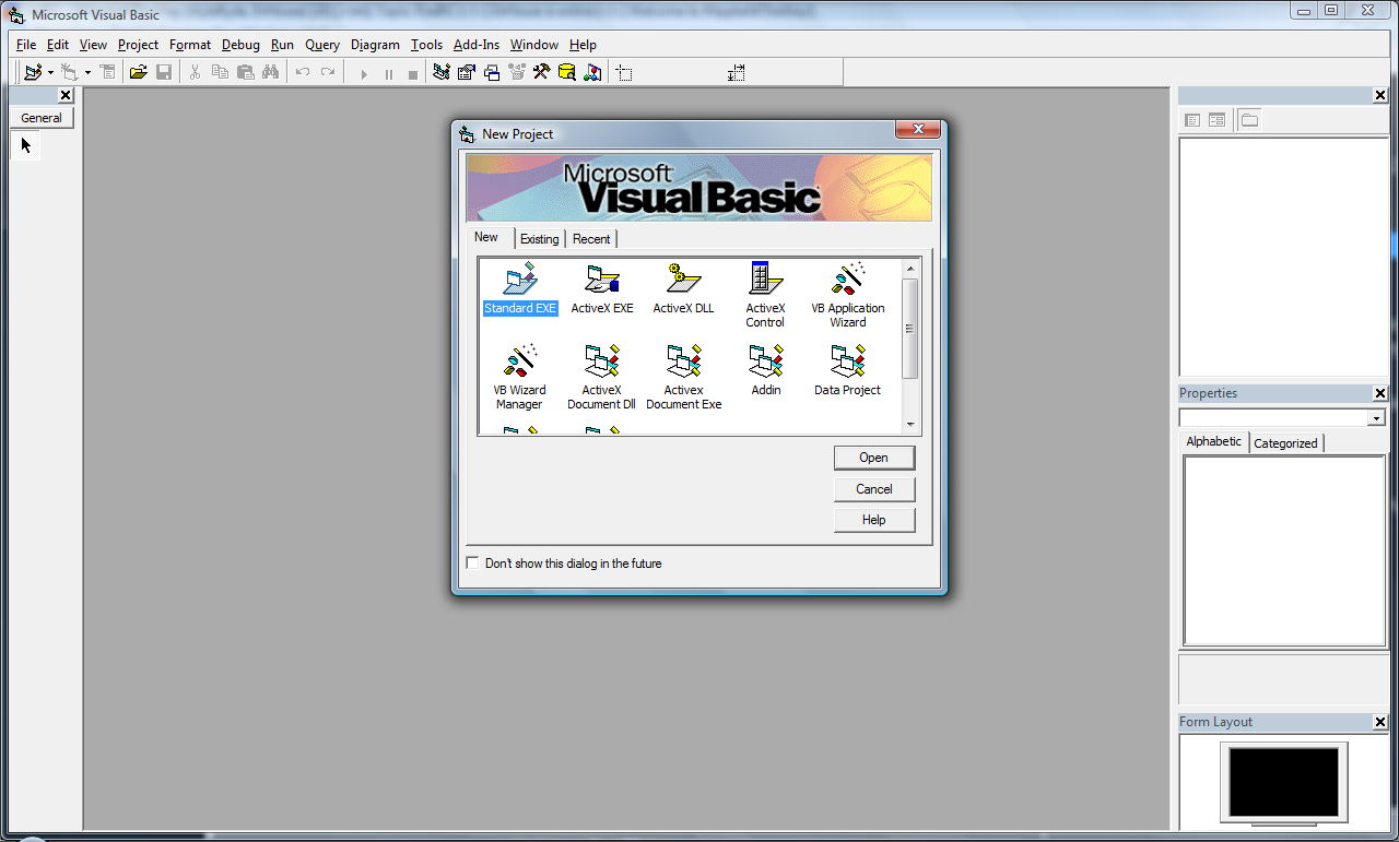Visual Basic picture