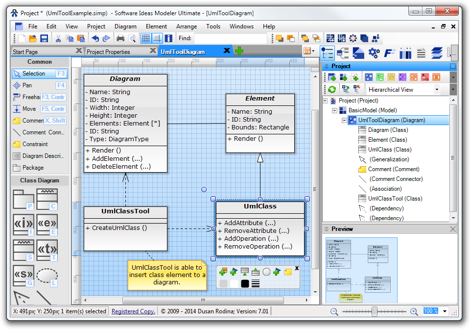 Software Ideas Modeler picture or screenshot