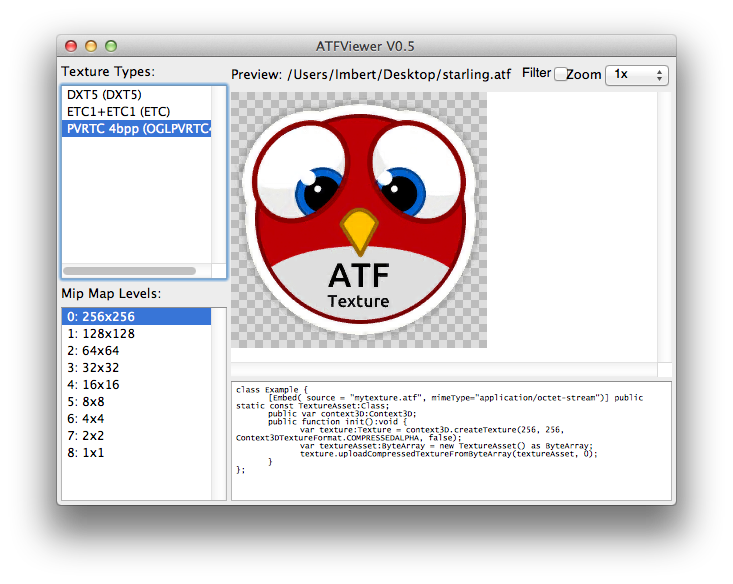 ATF SDK picture or screenshot