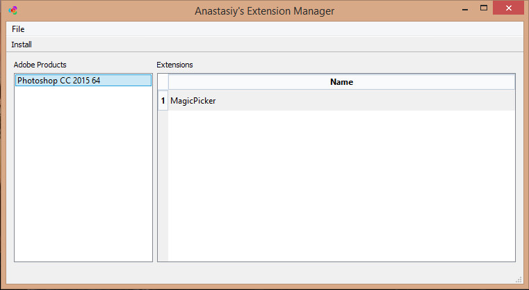 Anastasiy's Extension Manager picture