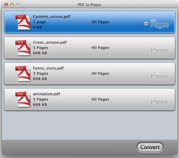 Wondershare PDF to Pages for Mac picture
