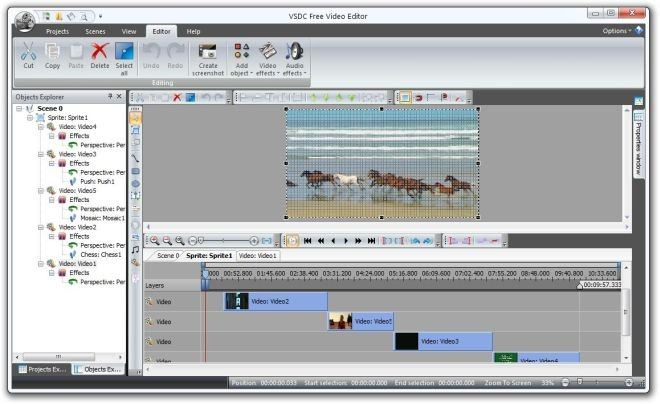 VSDC Free Video Editor picture or screenshot