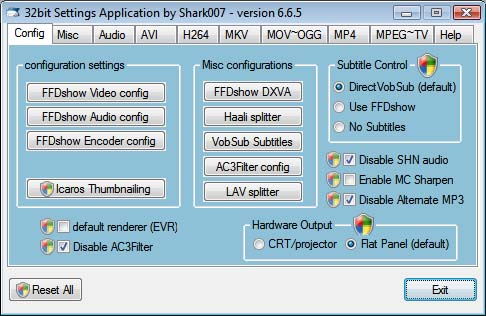 VistaCodecs picture or screenshot