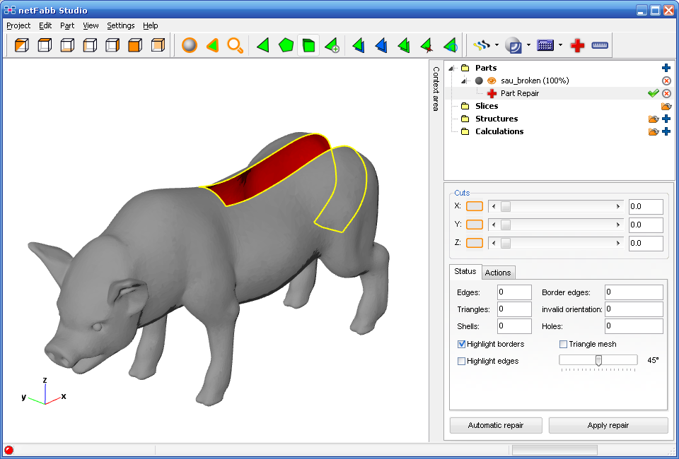 netfabb Basic picture or screenshot