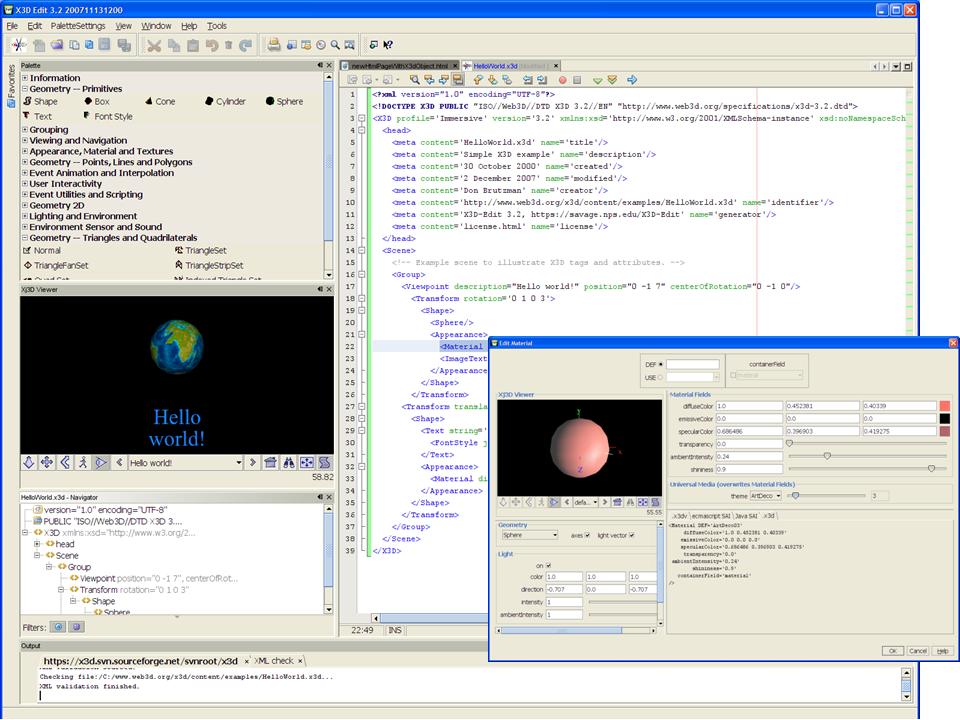 x3d file extension