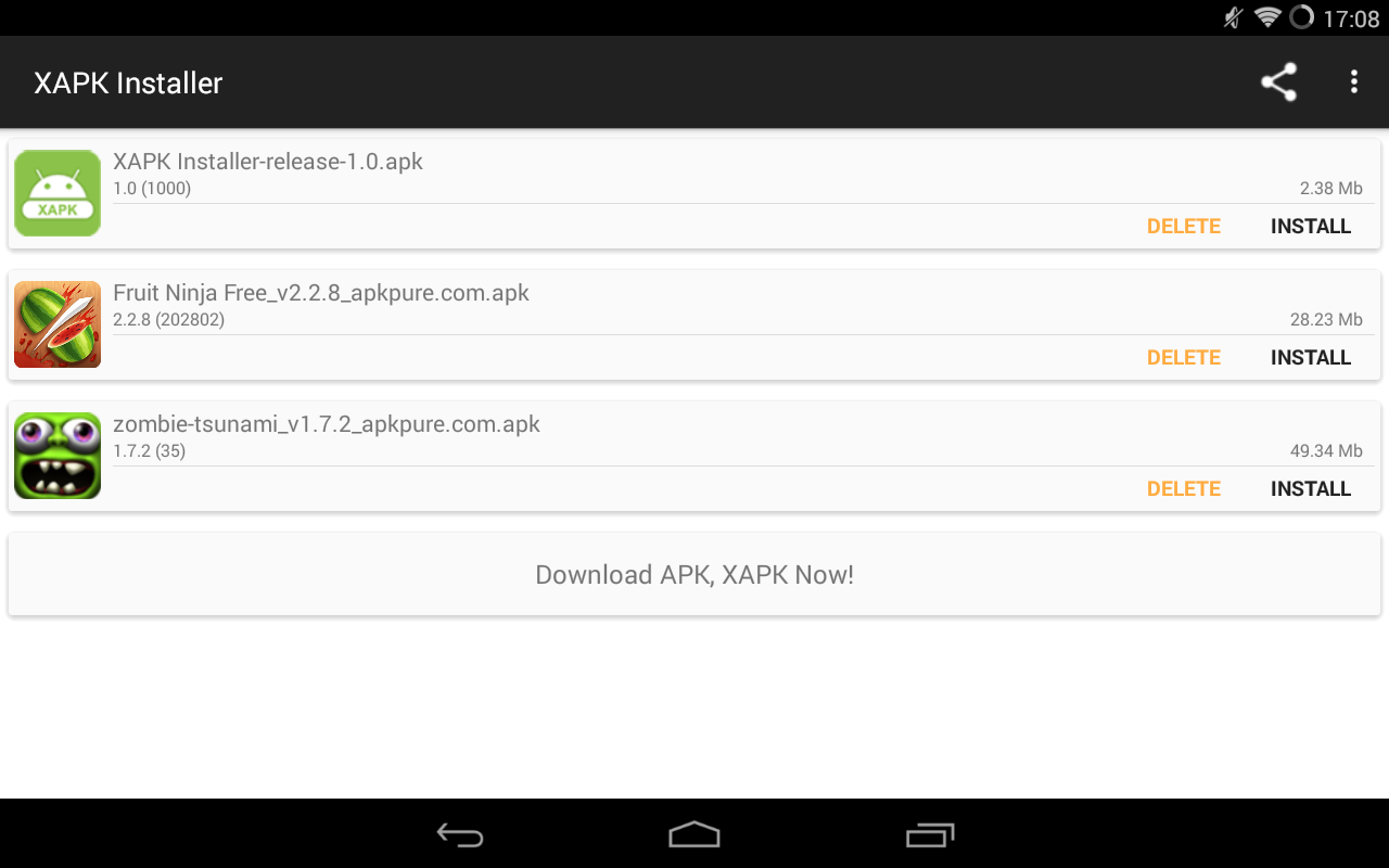 XAPK Installer picture or screenshot