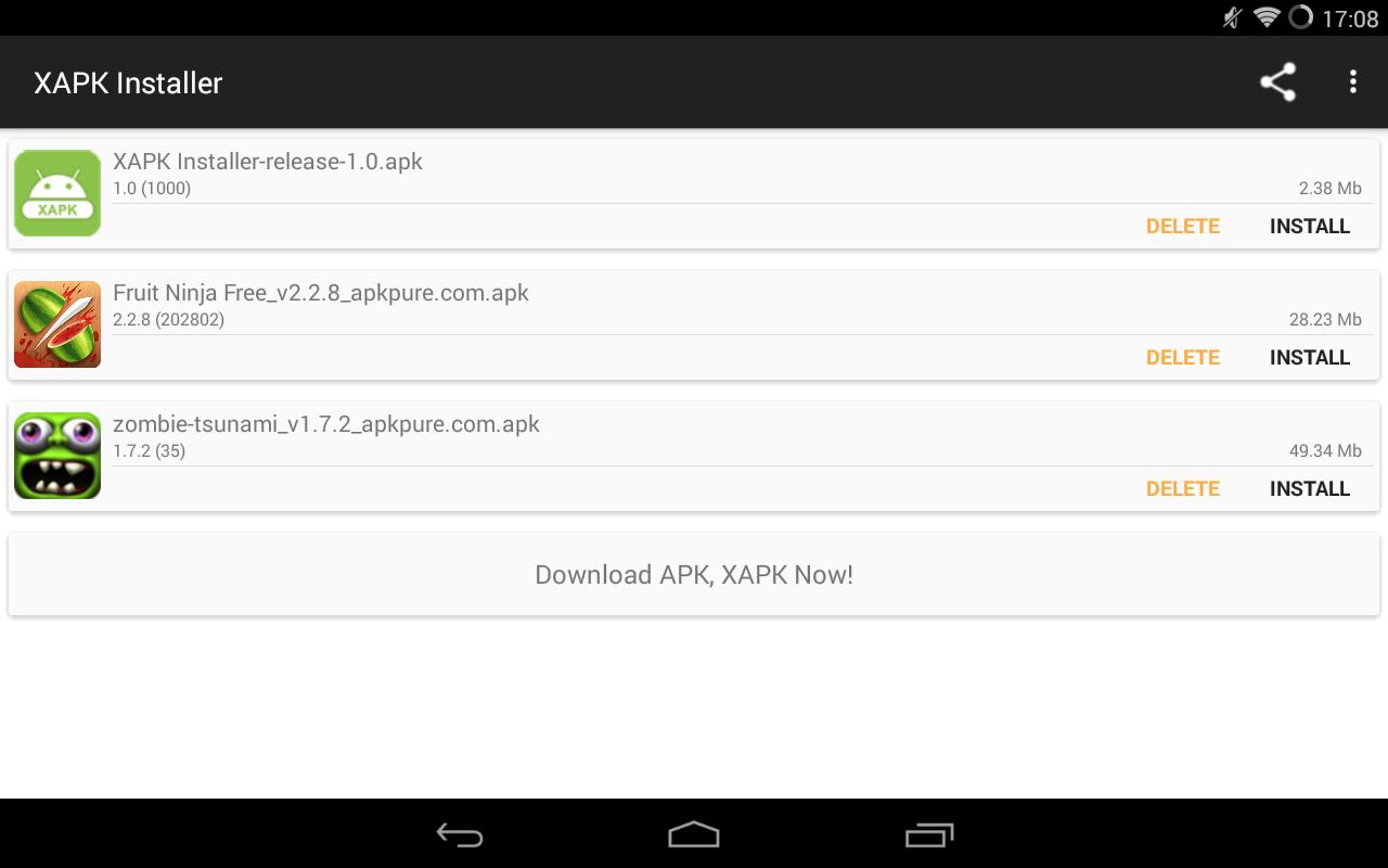 XAPK Installer picture or screenshot