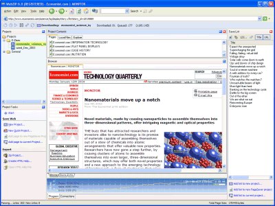WebZIP picture or screenshot
