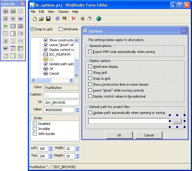 WinBinder picture or screenshot