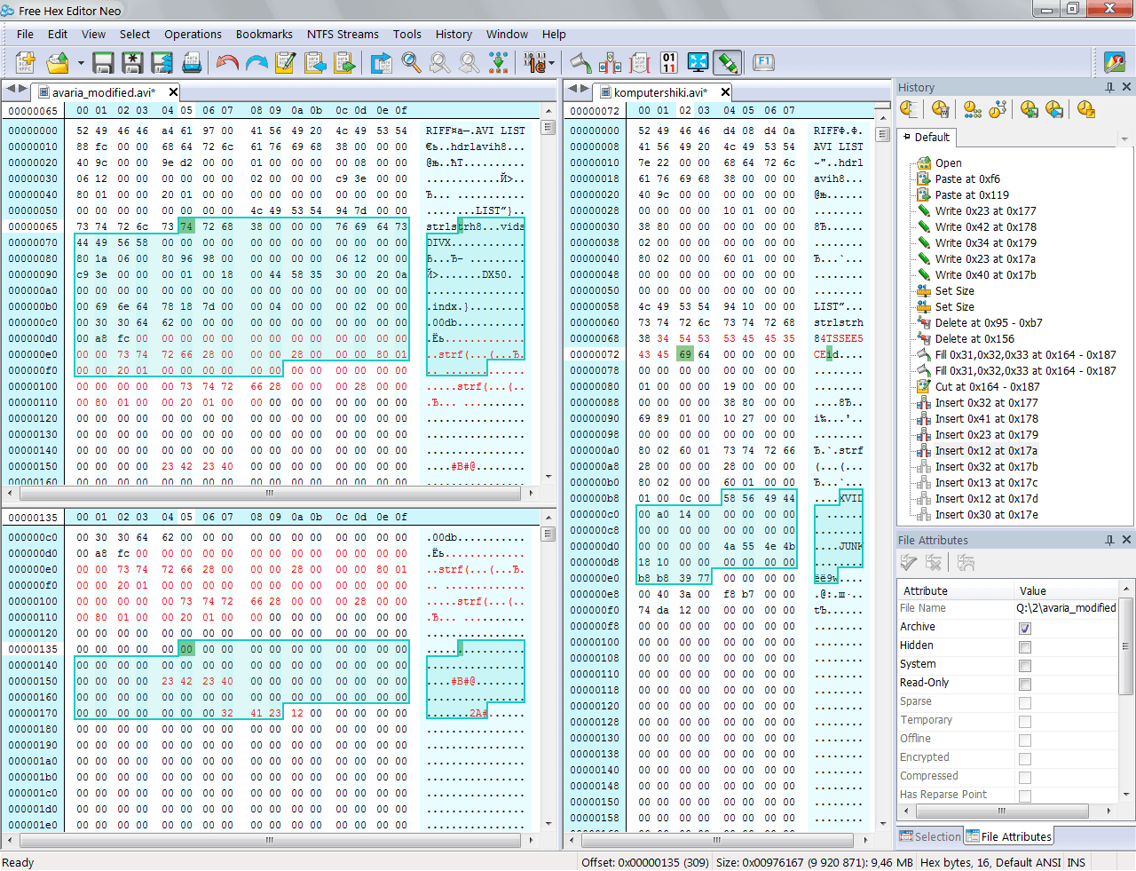 Free Hex Editor Neo picture or screenshot