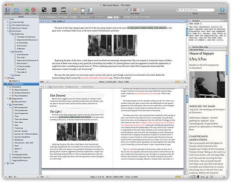 Scrivener for OS X picture