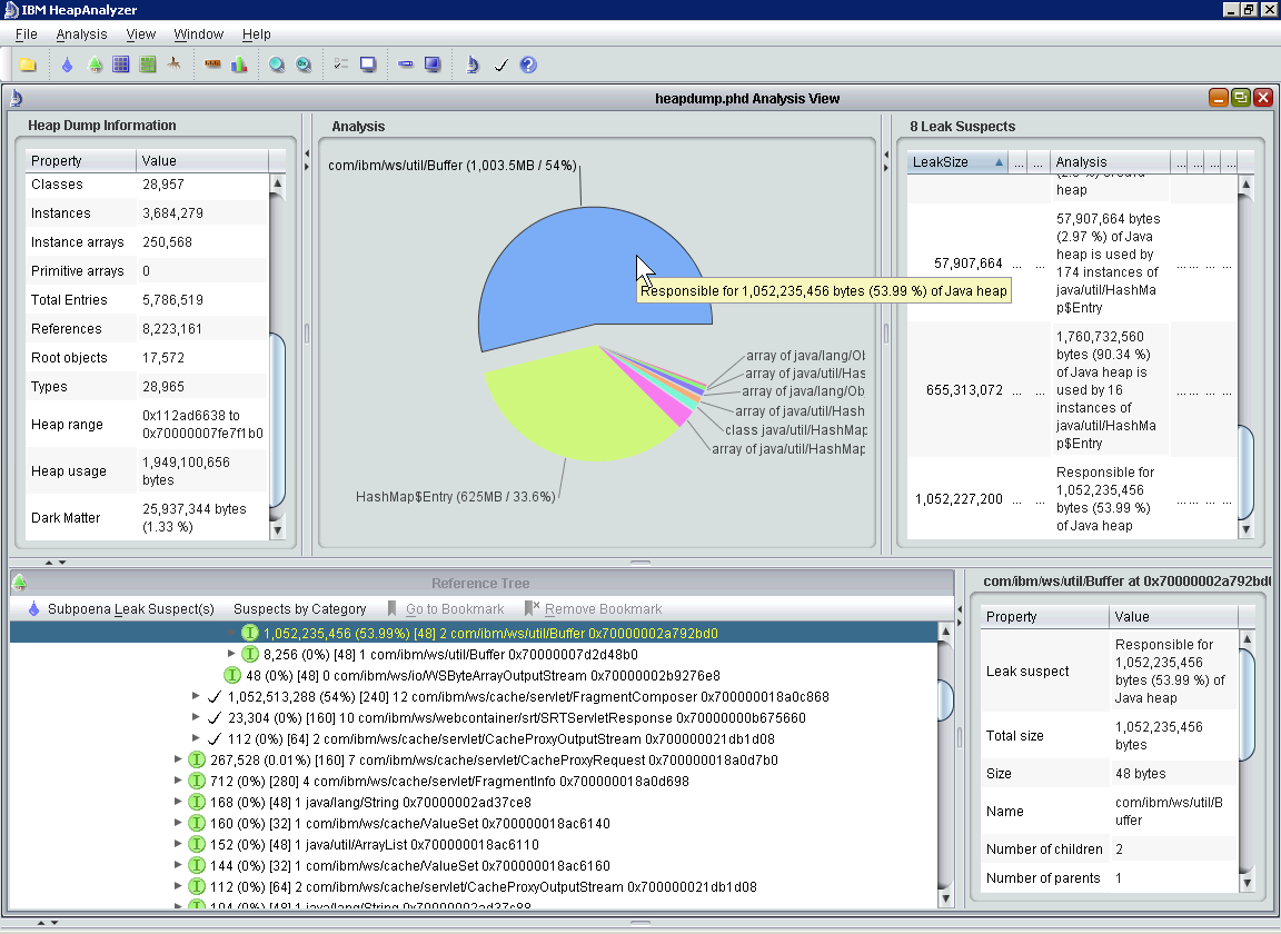 HeapAnalyzer picture or screenshot