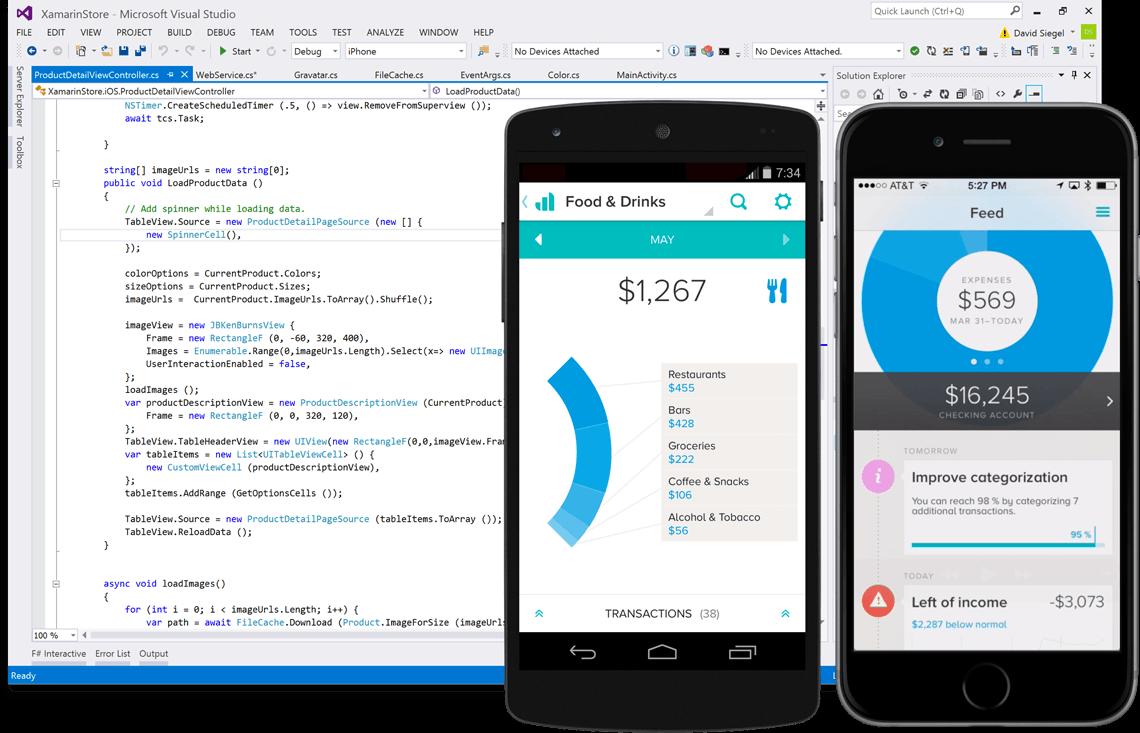 Xamarin Platform picture or screenshot