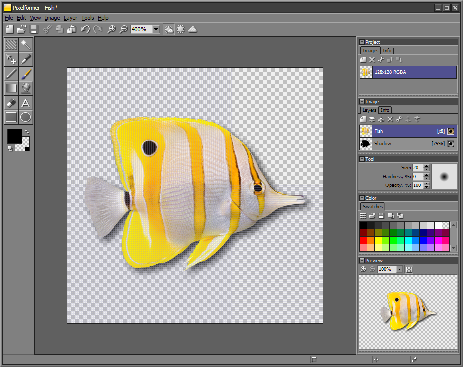 Pixelformer picture or screenshot