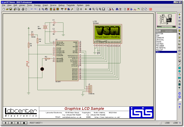 Proteus Design Suite picture or screenshot