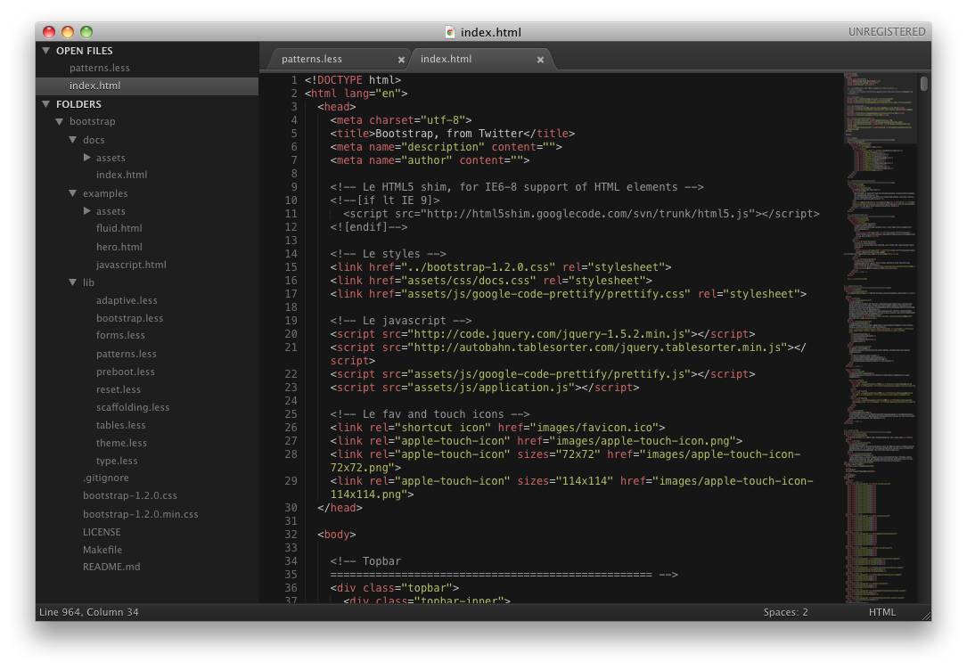 Sublime Text for Mac picture